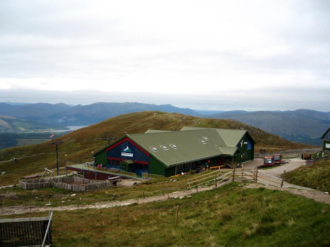 Домик для отдыха на станции горы Бен-Невис