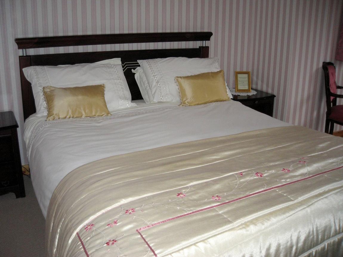 Кровать в гостинице Гленко -Шотландия