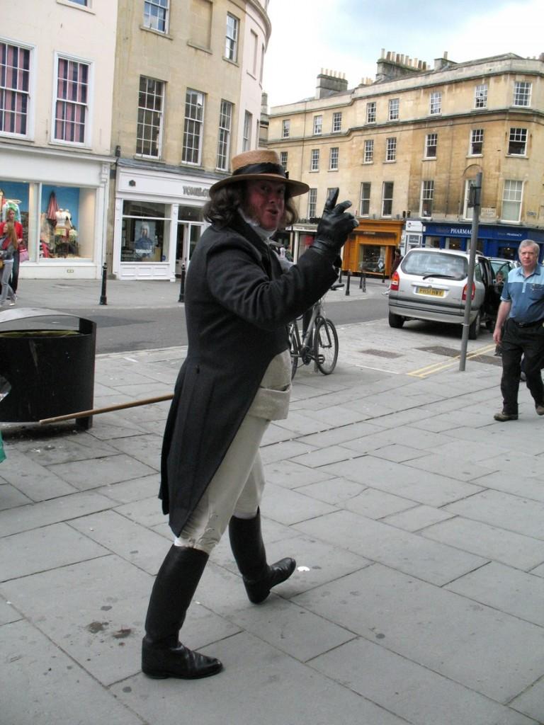 Мужчина в средневековой одежде (Великобритания)