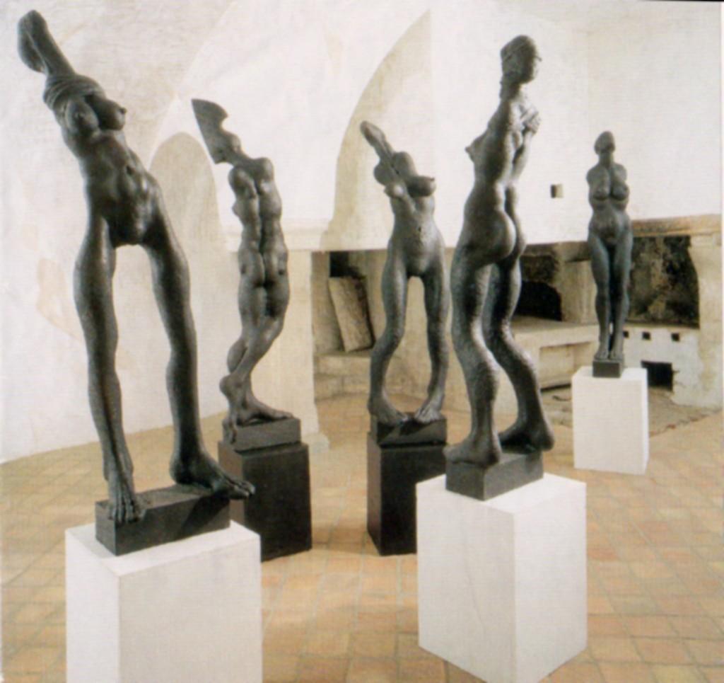 Музей фигур в Чешском Крумлове (Чехия)