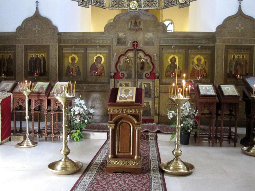 Русское подворье - церковь Св Николая в Бари