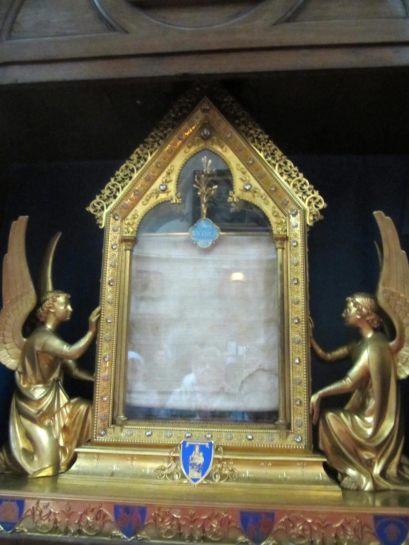 Святая плащаница Девы Марии -Париж