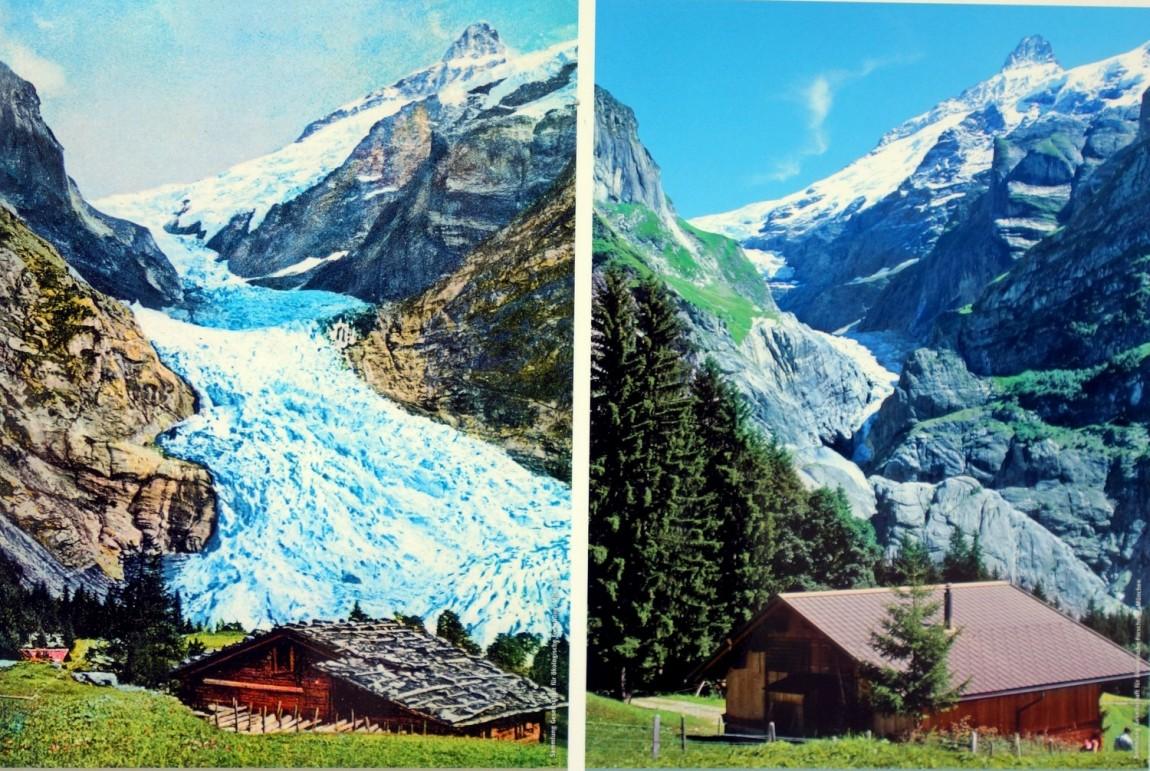 Ледники сошедшие в Швейцарии