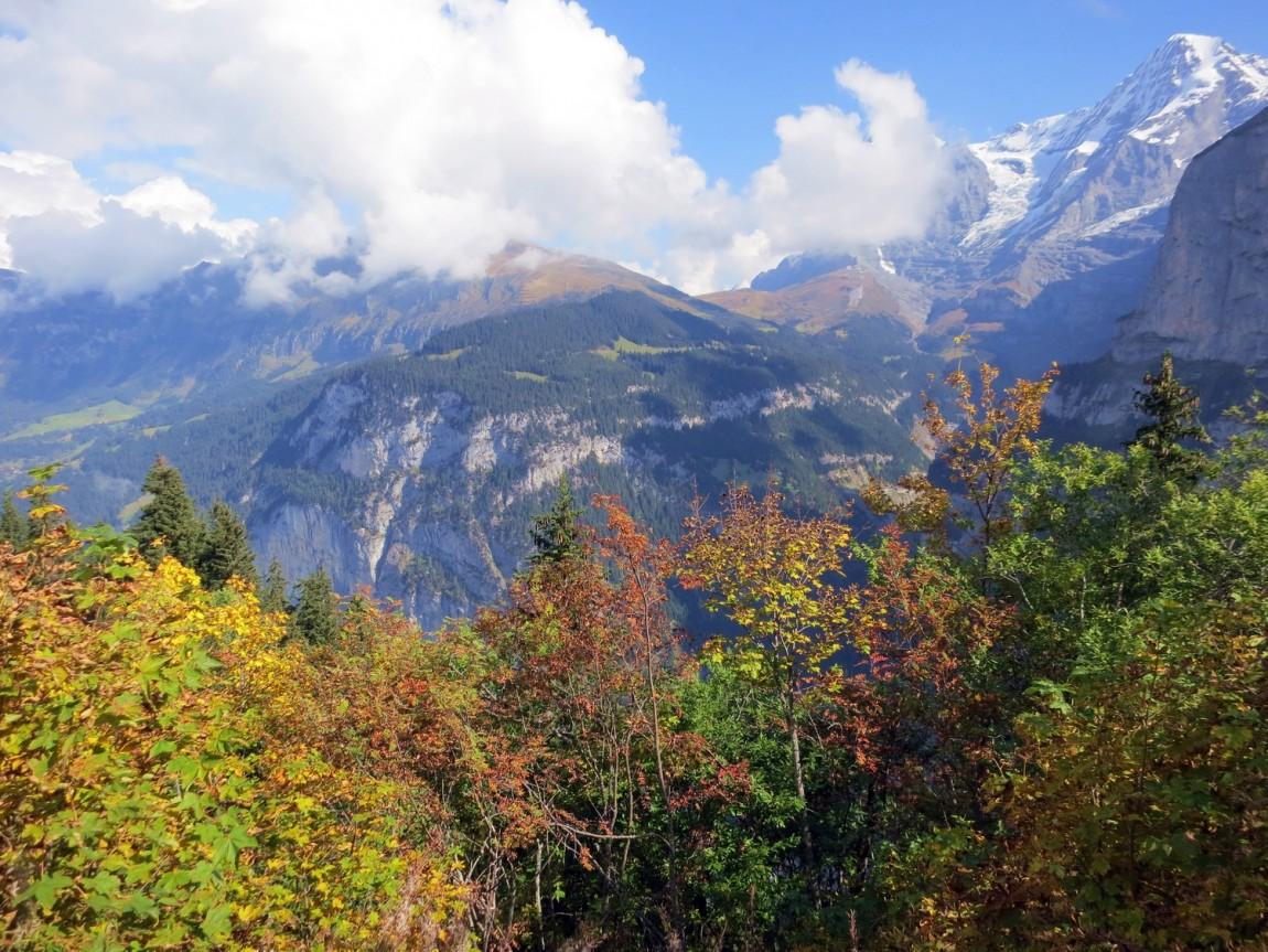 Горы в Швейцарии, Мюррен