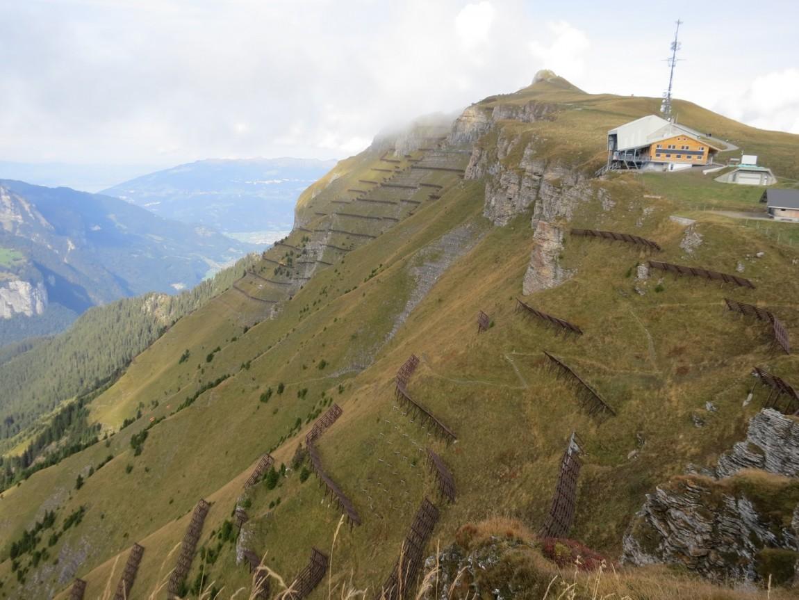 Гора Männlichen в Швейцарии