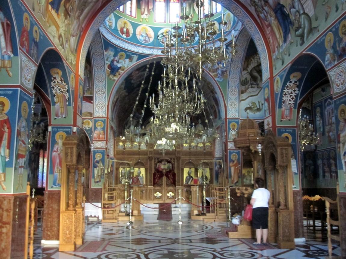 Новый храм в Малеви