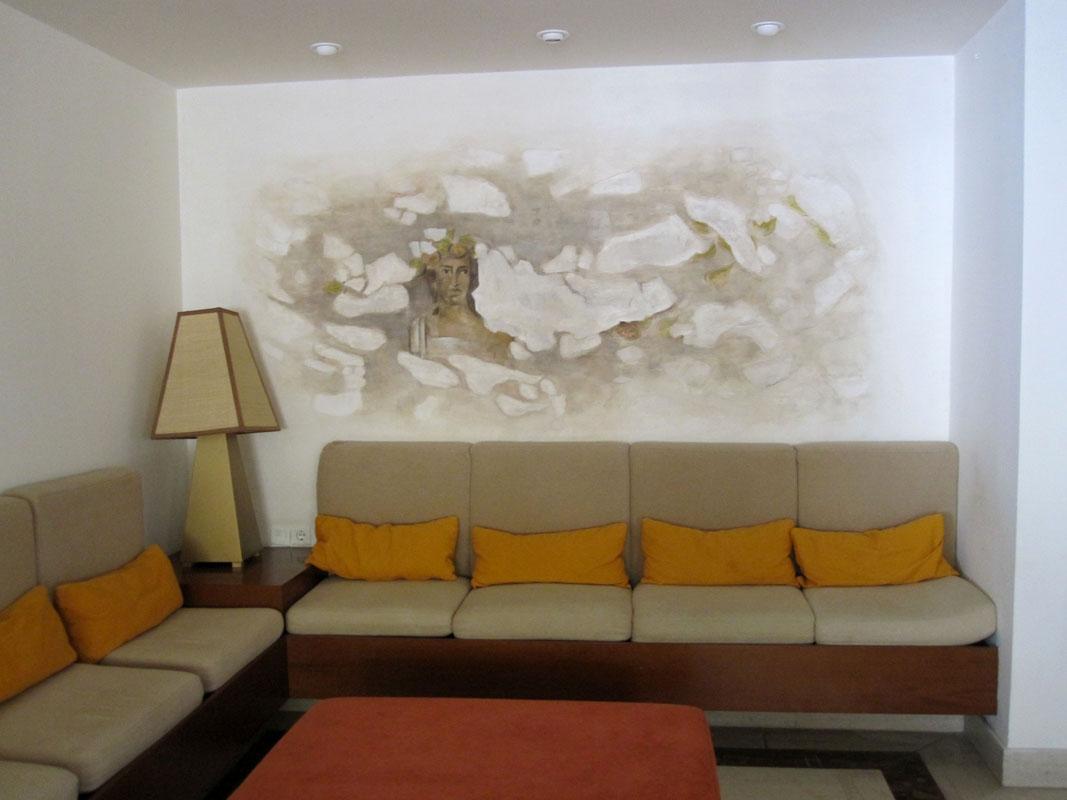 Холл гостиницы в Турции