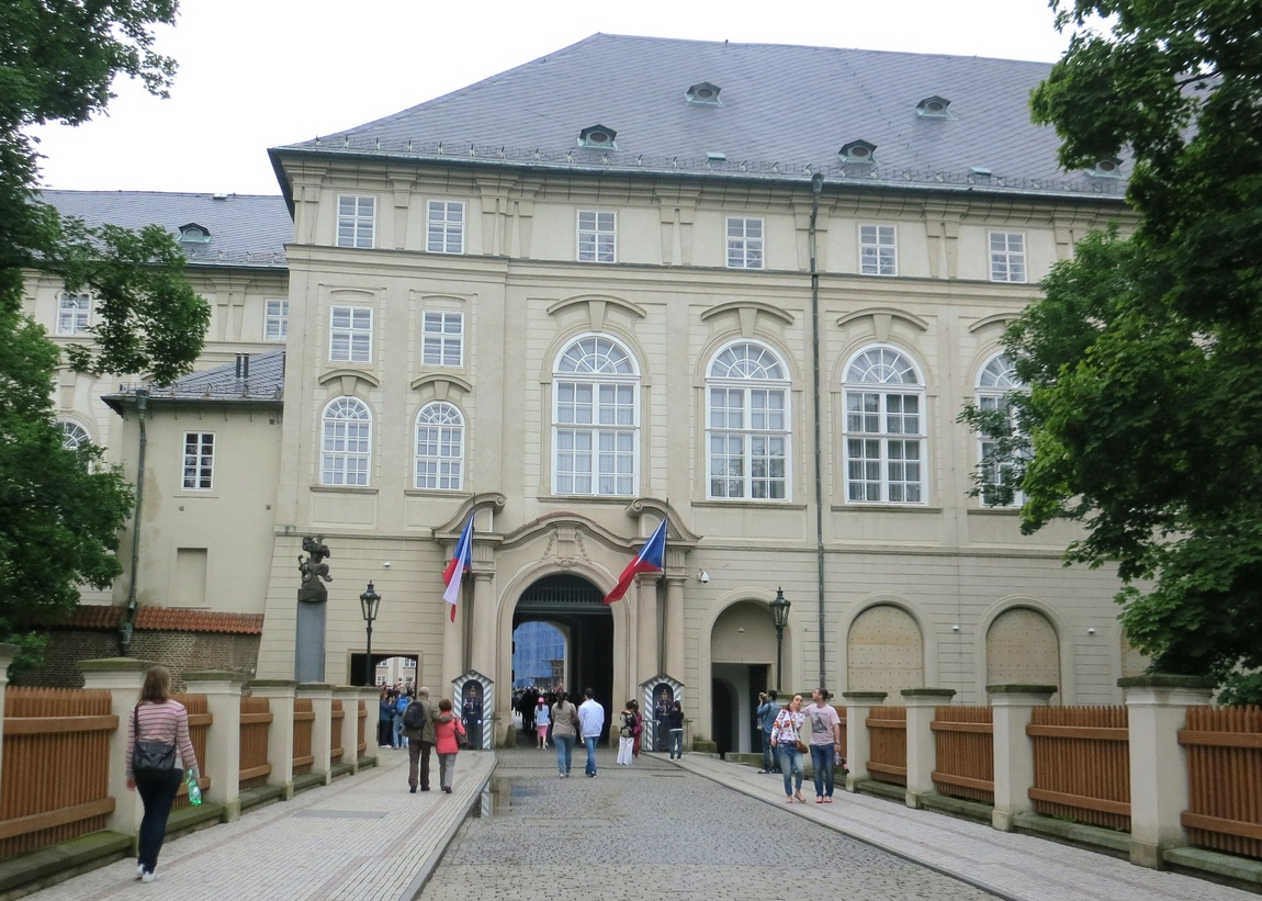 Вход на территорию Пражского Града