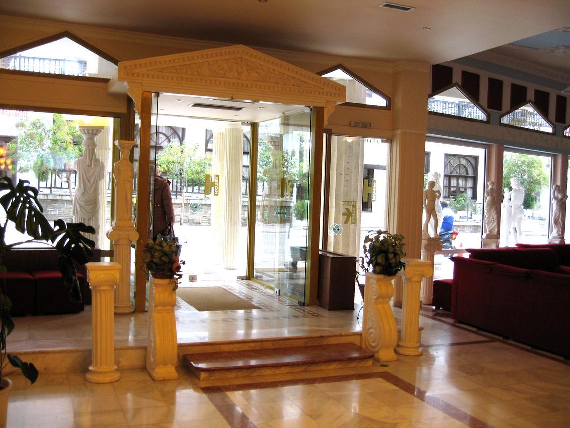 3 д,10 Внутри гостиницы - Греция