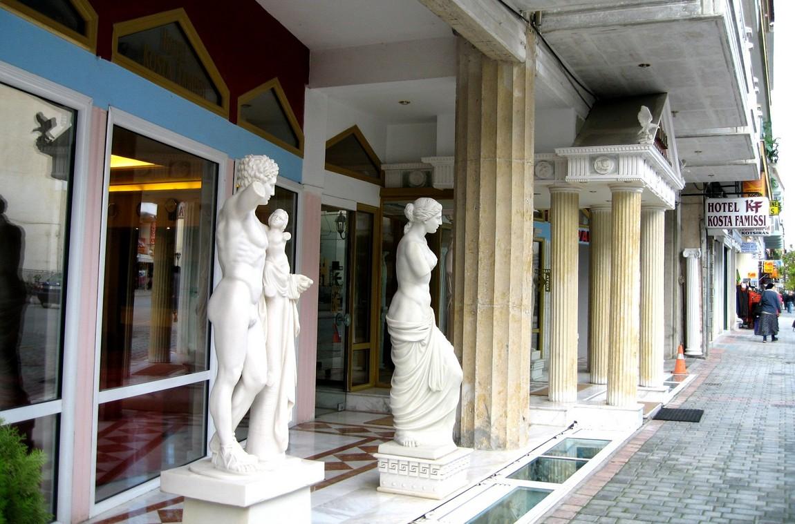 3 д,12 Вид на гостиницу - Греция