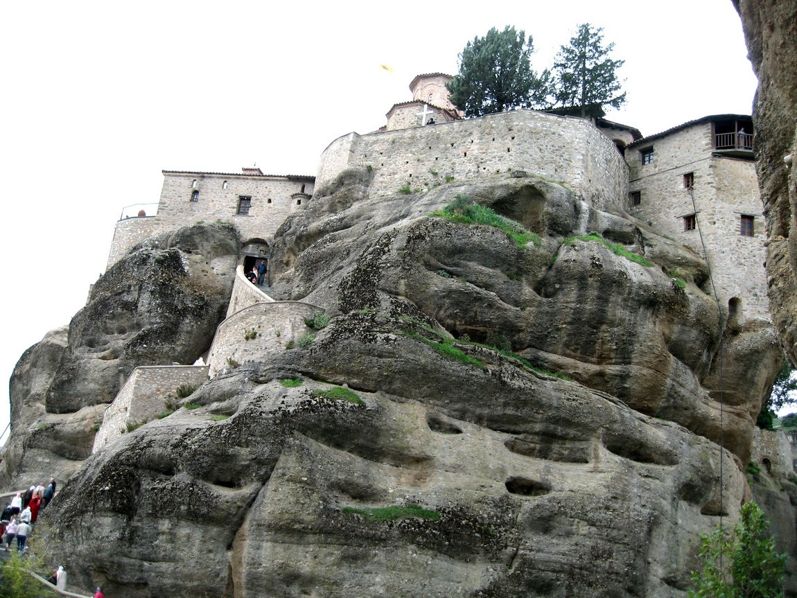 Монастырь сверху - Метеоры