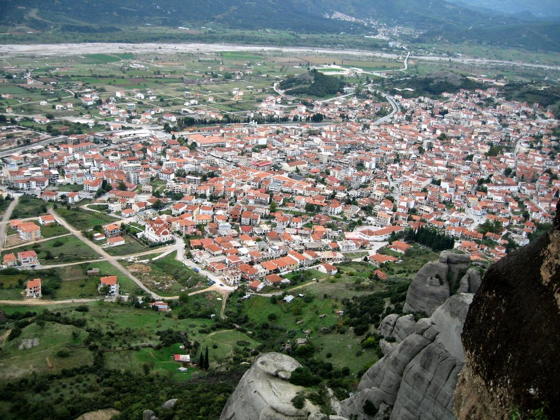 Пейзаж сверху - Греция