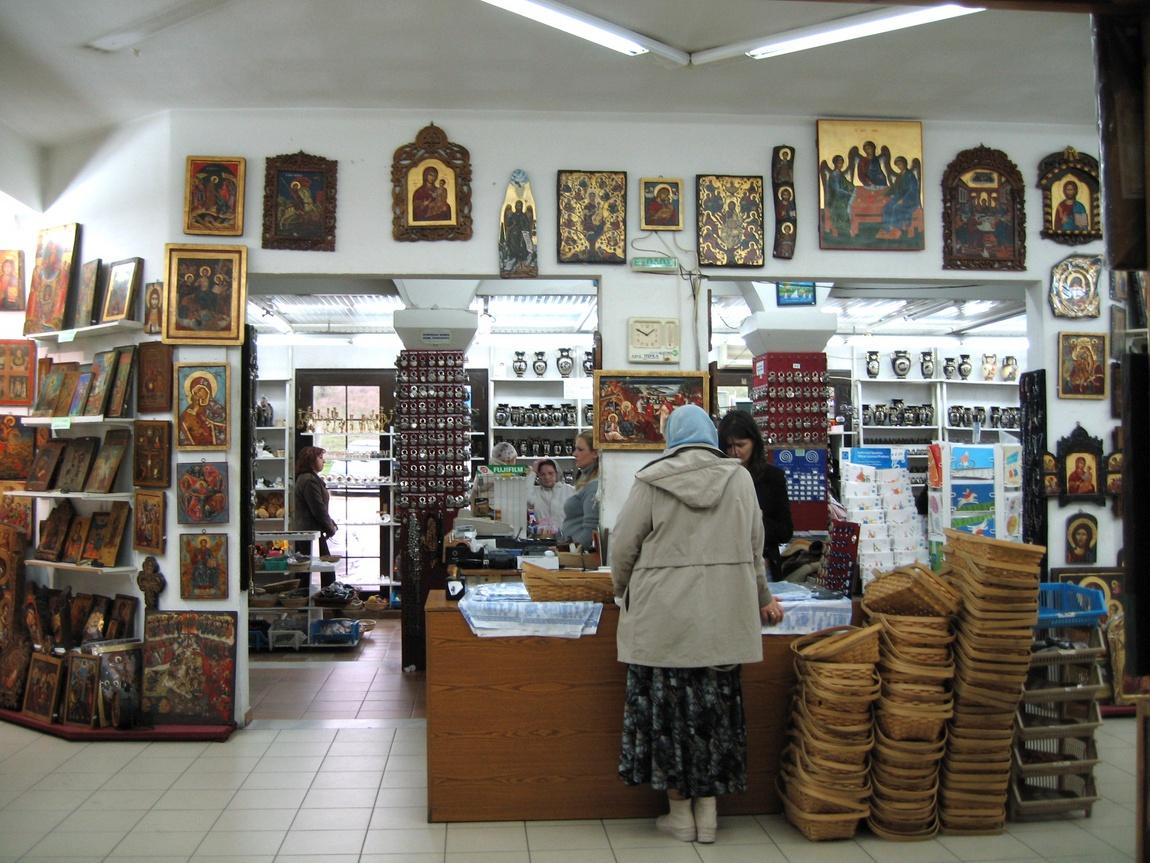 Магазин икон в Греции