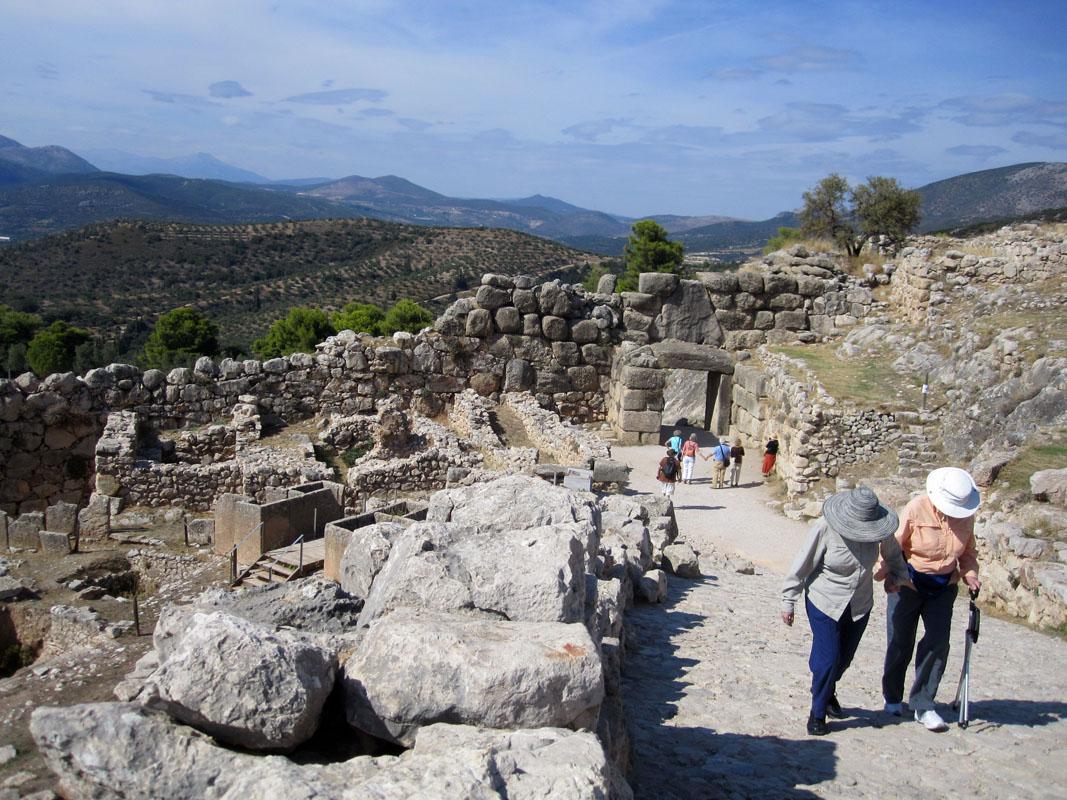 Микены-крепость