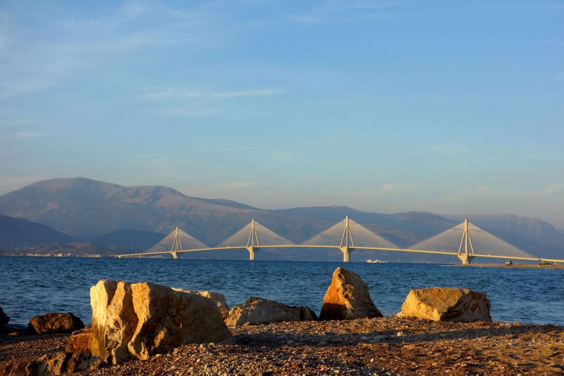 Мост Рио-Антарио в Греции