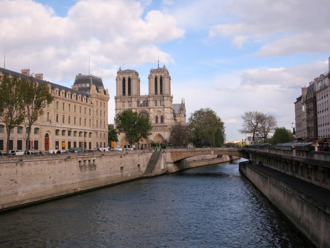 Париж - река Сена