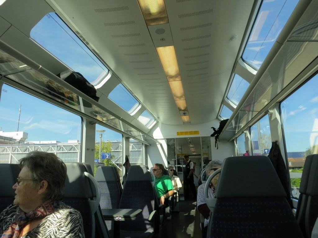 Современные поезда в Австрии