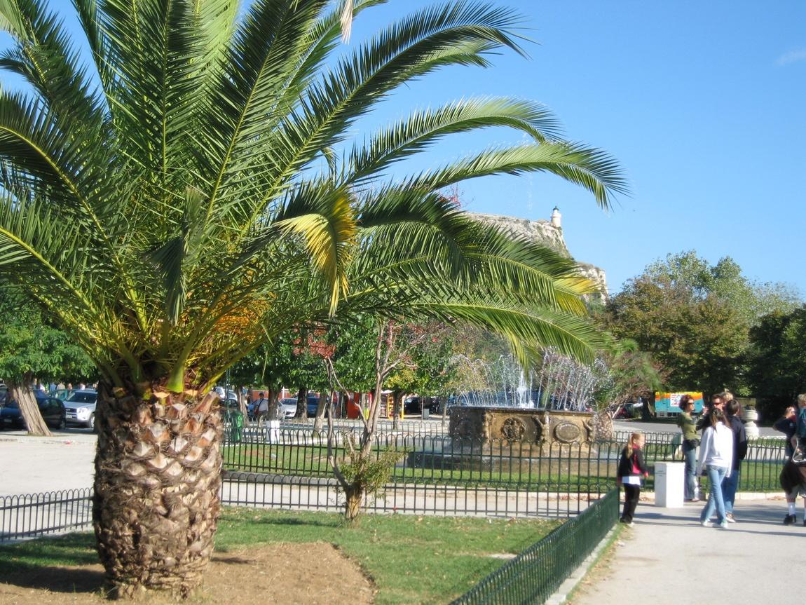 Парк на Корфу