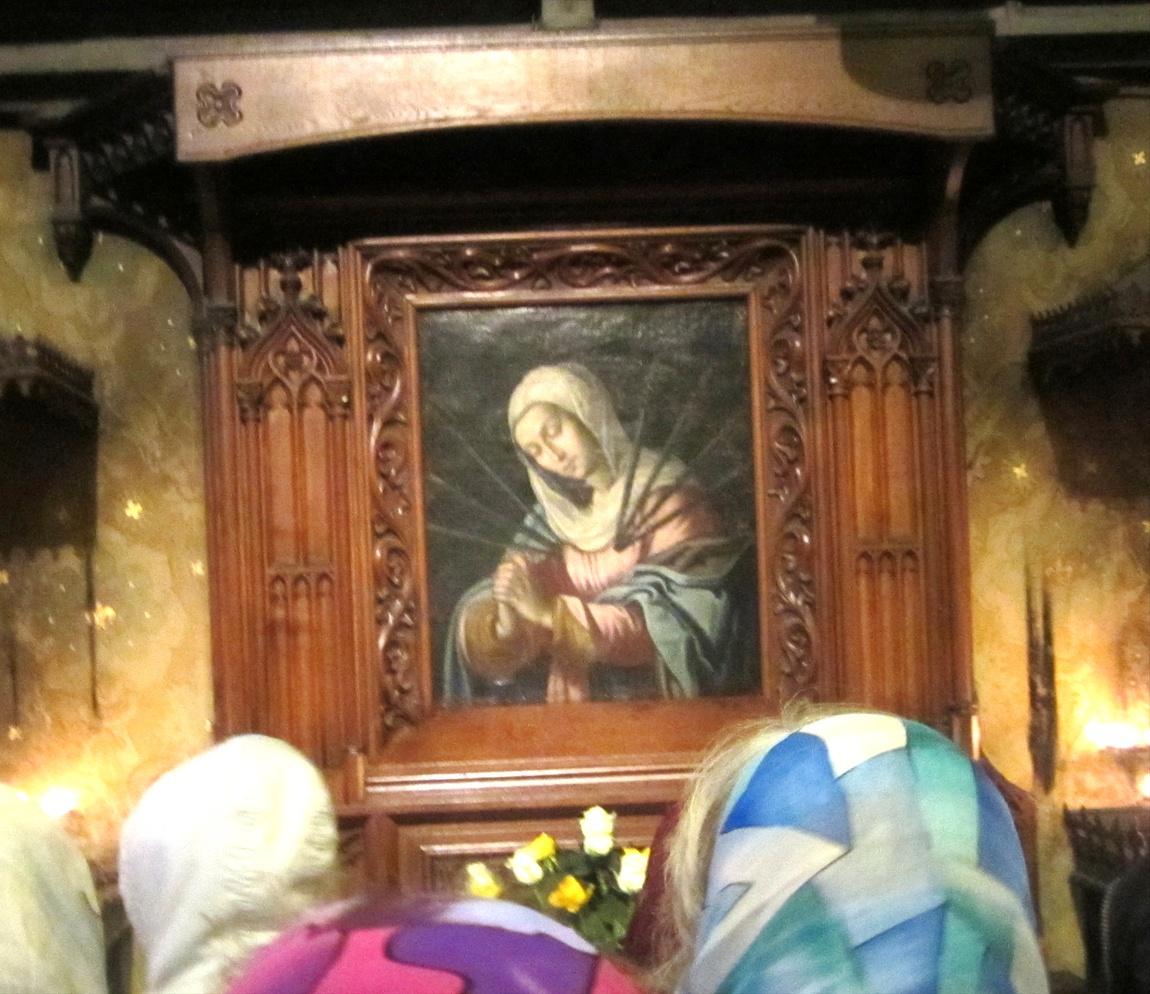 Ахенский собор - Германия, икона