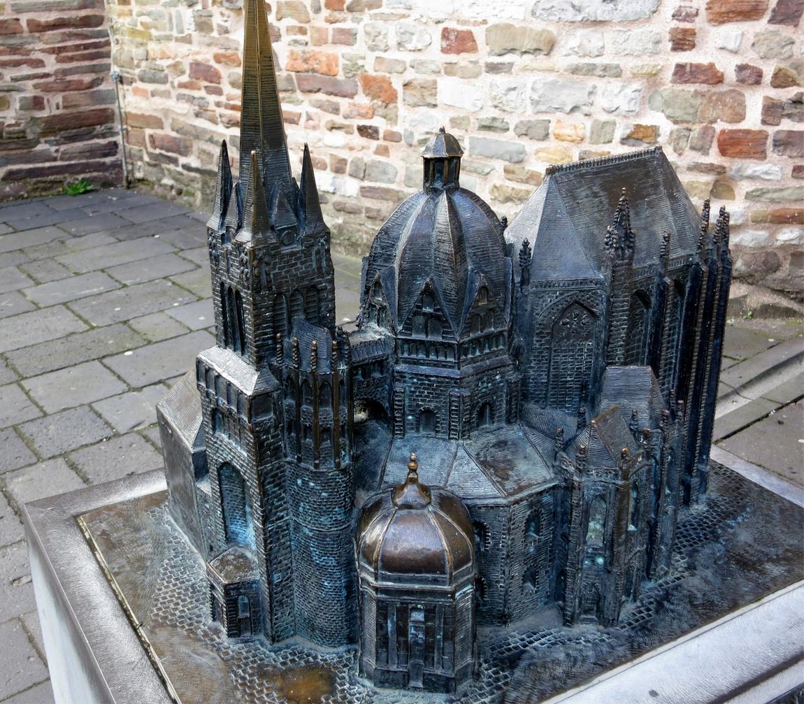 Ахенский собор - Германия, макет