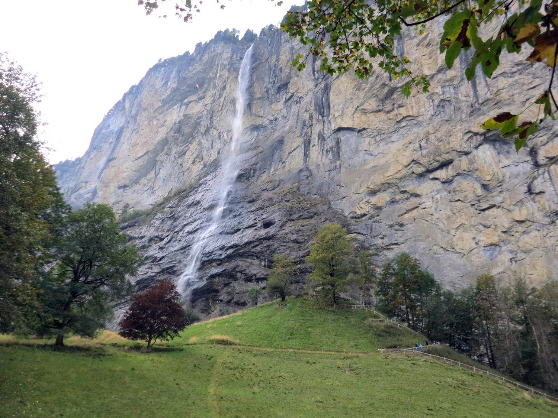 Водопад Штауббах (Staubbachfall)