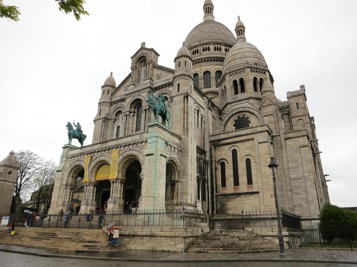 Храм Монмартр -Париж