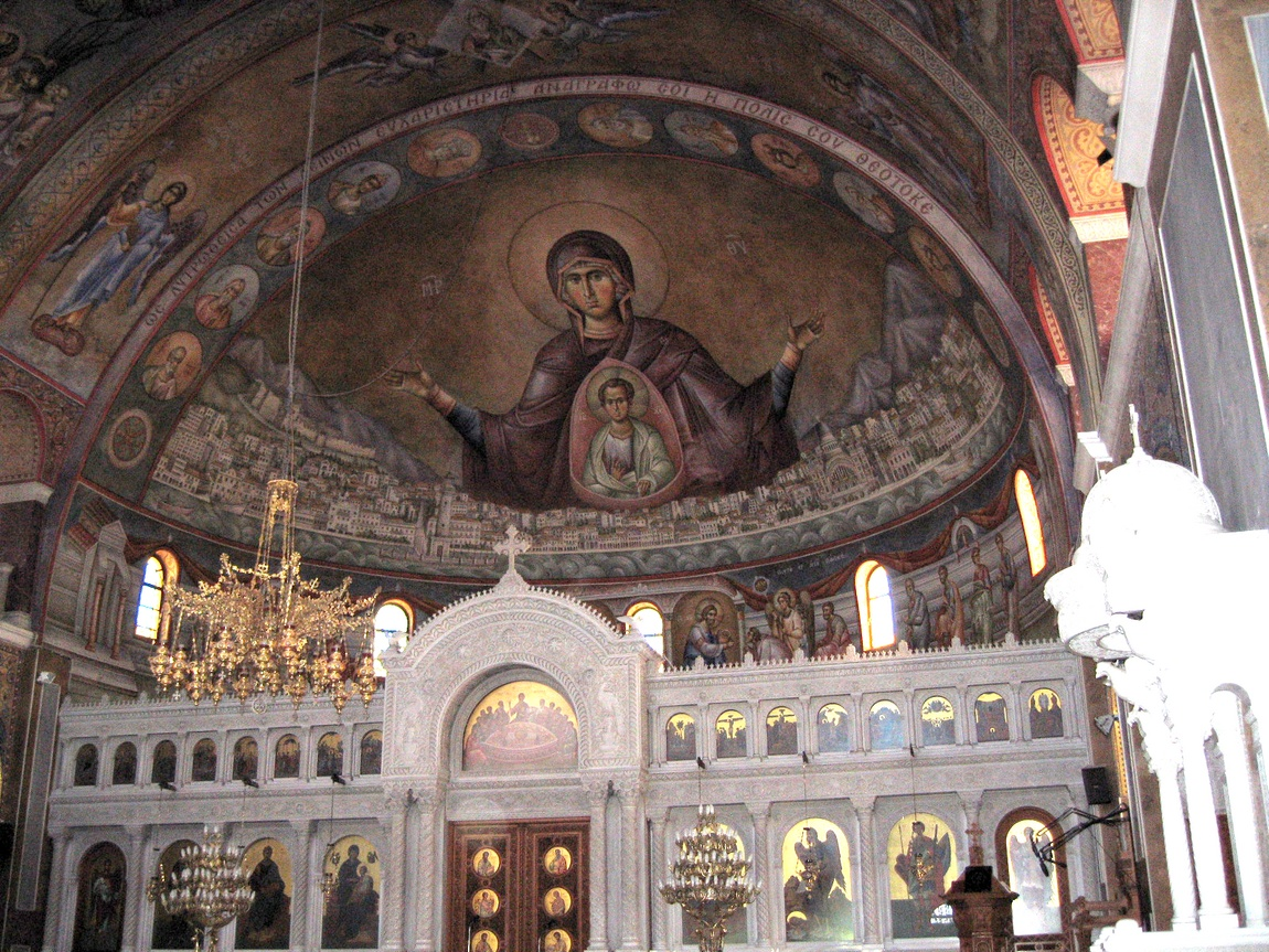 Потолок храма Андрея Первозванного