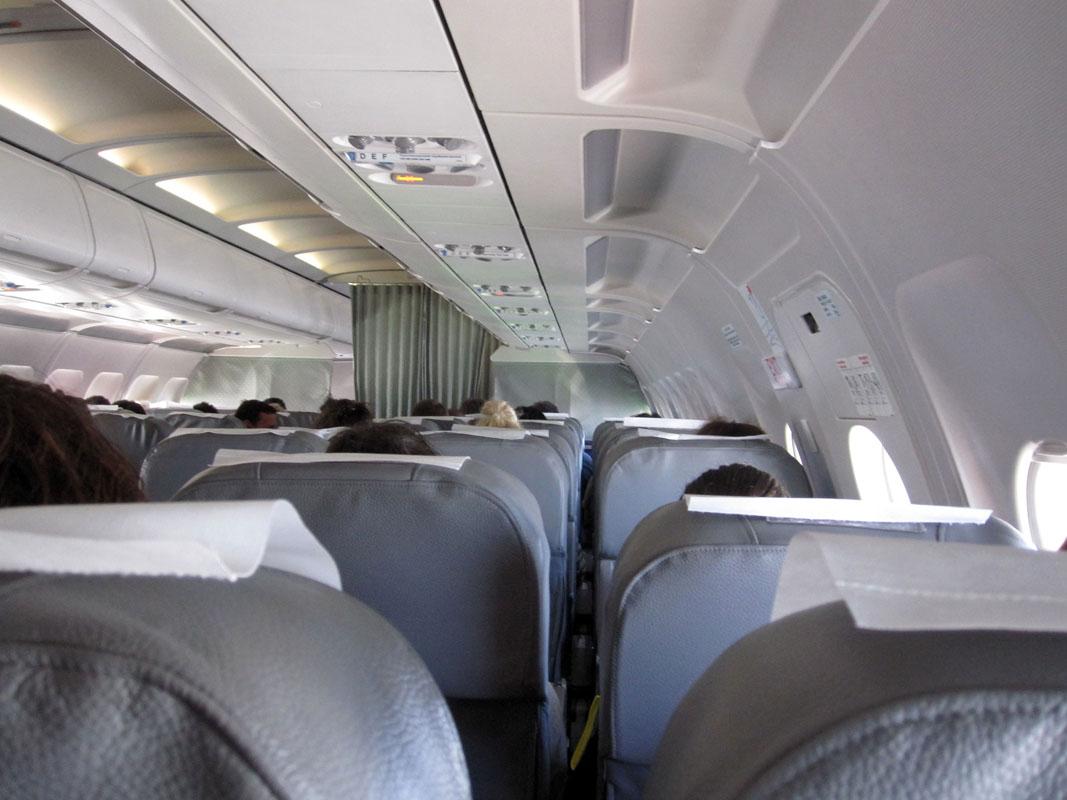 Самолёт из Греции