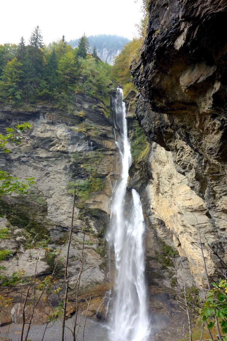 Рейхенбахский водопад в Швейцарии