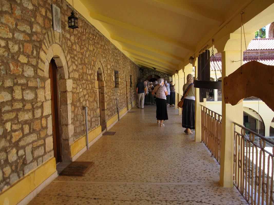 Греция - Монастырь Агия Лавра