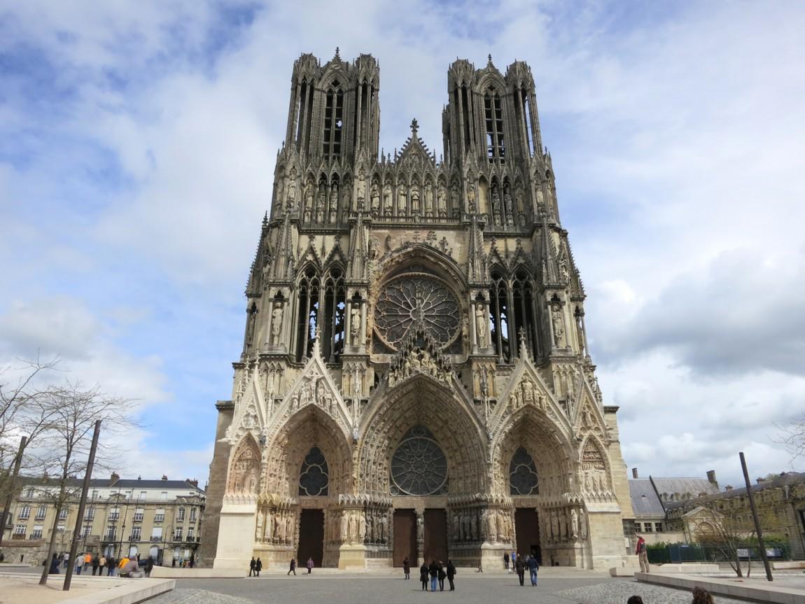 """Реймский собор - """"Notre Dame"""" - Франция"""