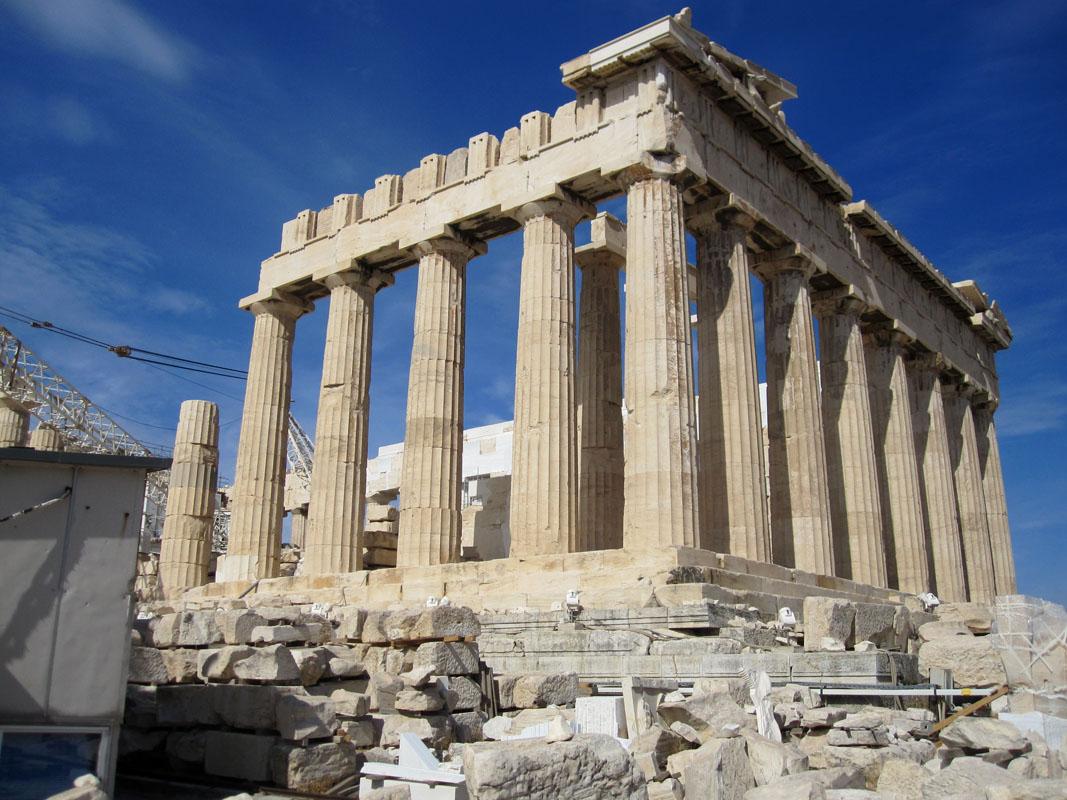 Главный храм Парфенон