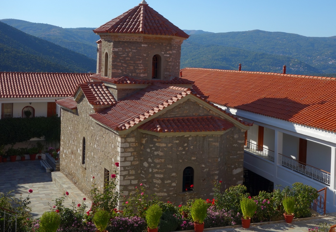 Монастырь Малеви в Греции