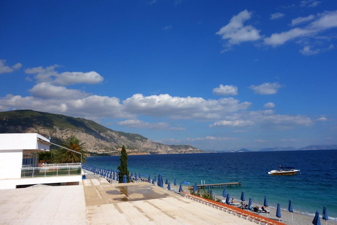 Вид на море из гостиницы