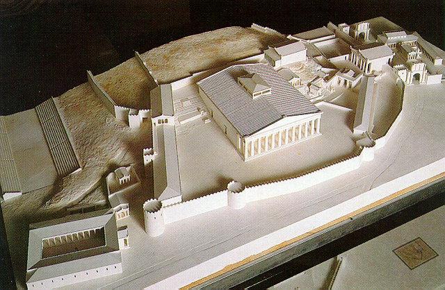 Eleusis-Modell 1.Элевсинские мистерии (Греция)
