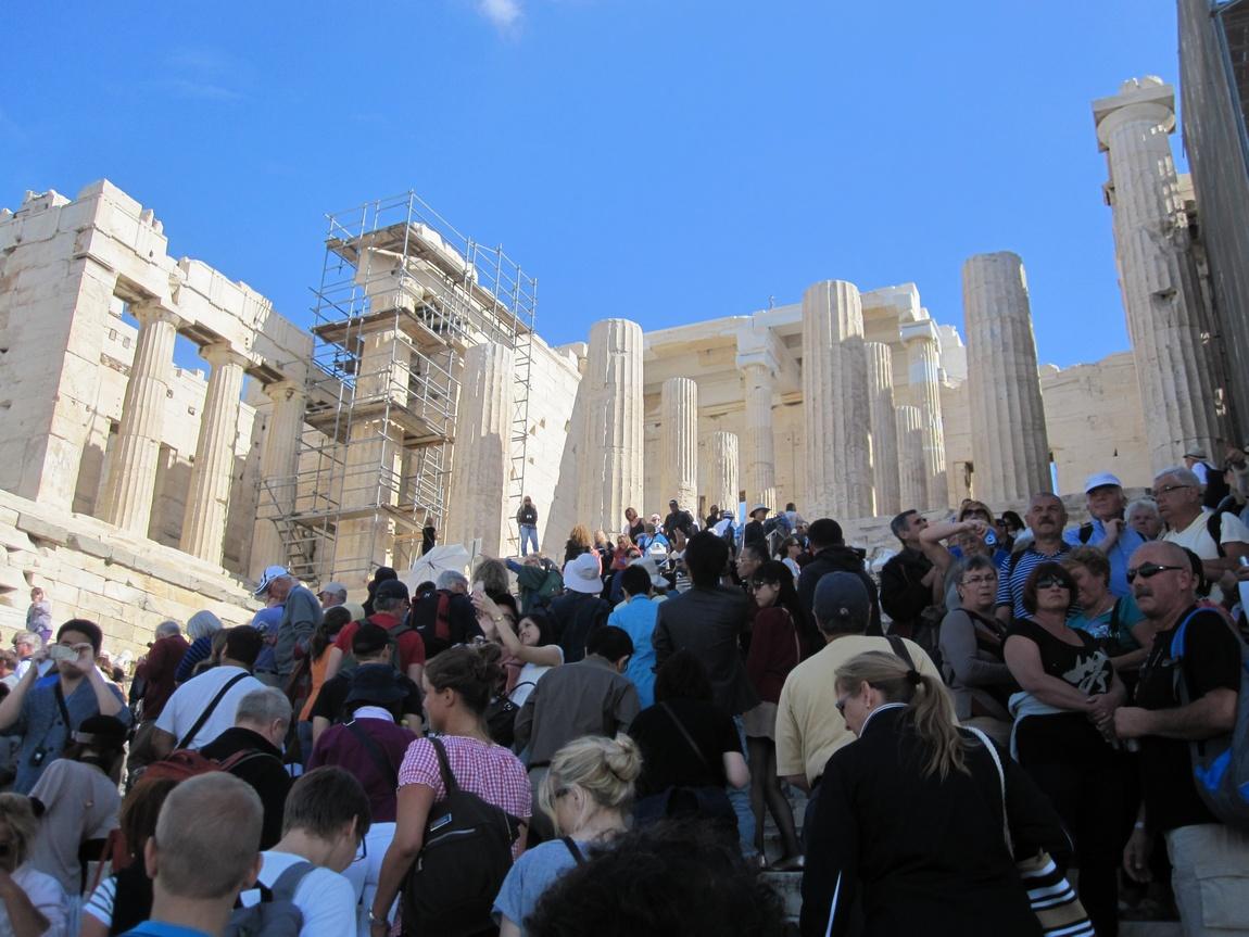 Пропилеи, Афины