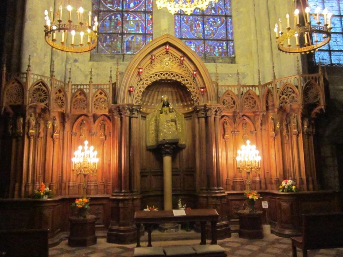 Шартрский собор -Париж