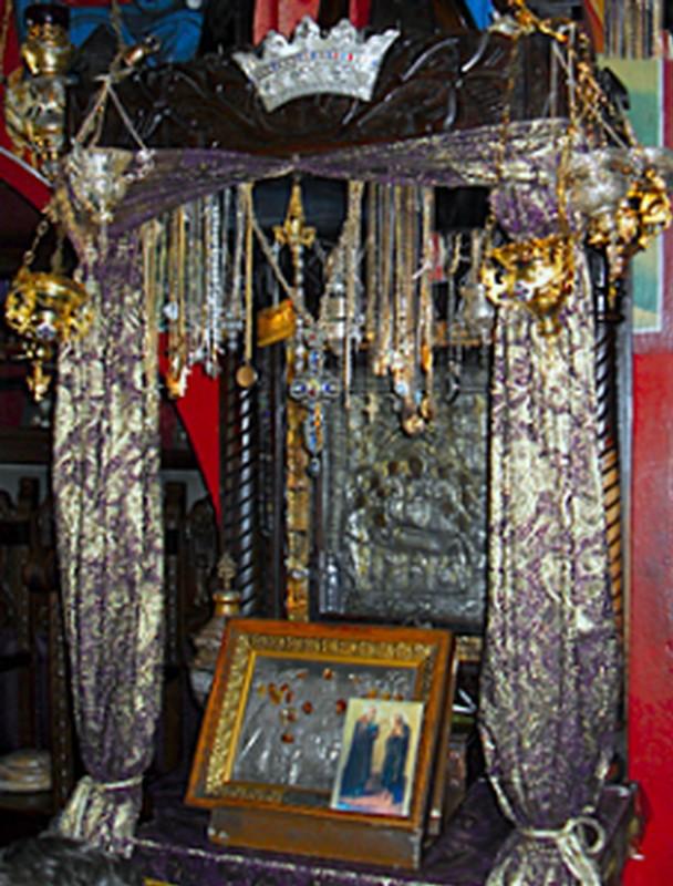 Икона в Малевийском монастыре