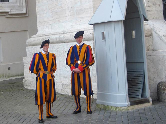 Швейцарская гвардия, Италия
