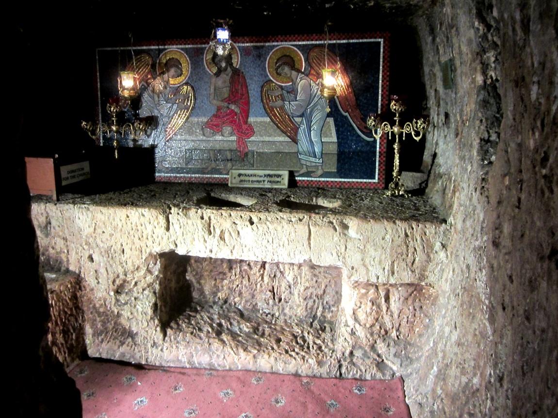 Преторий - темница где был заключён Иисус