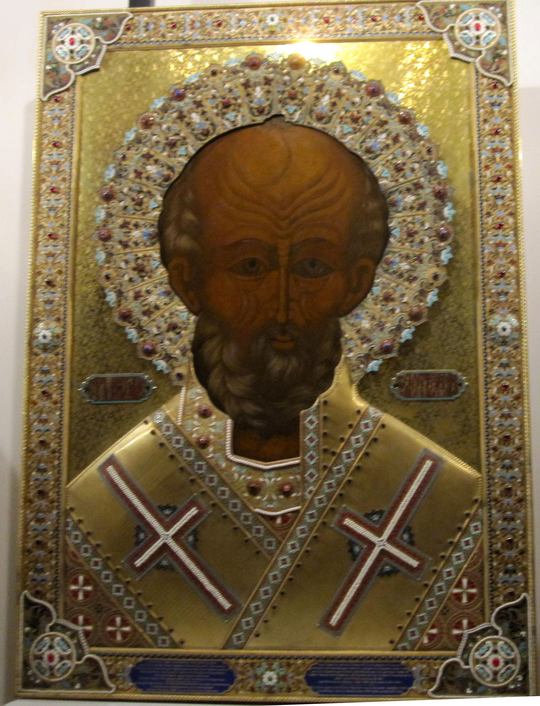Николай Чудотворец икона в Бари