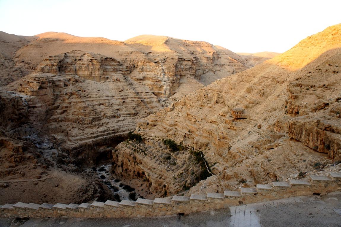 Каньоны в Палестине