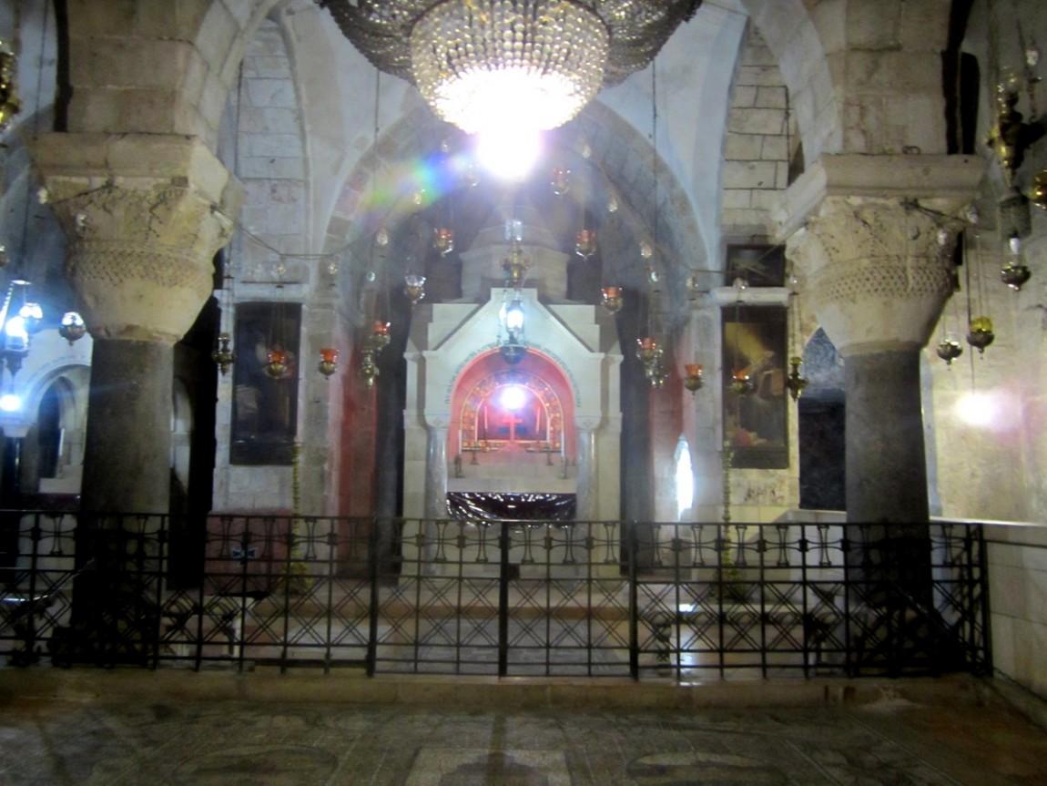 Придел Святой царицы Елены - Храм Воскресения Христова