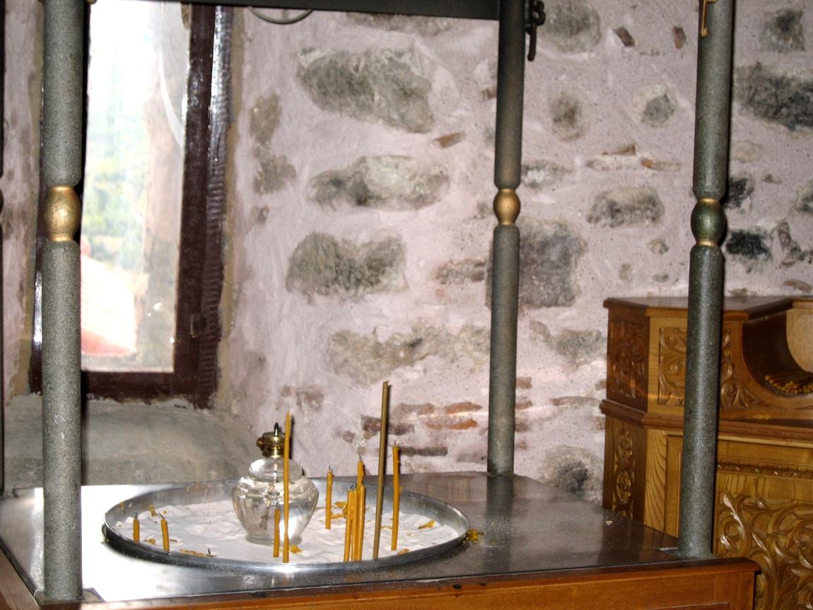 В келье монастыря - Метеоры