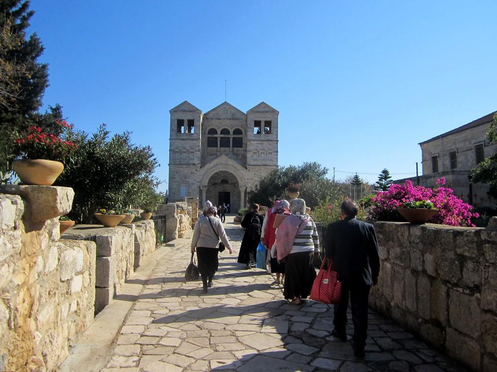 Израиль - гора Фавор