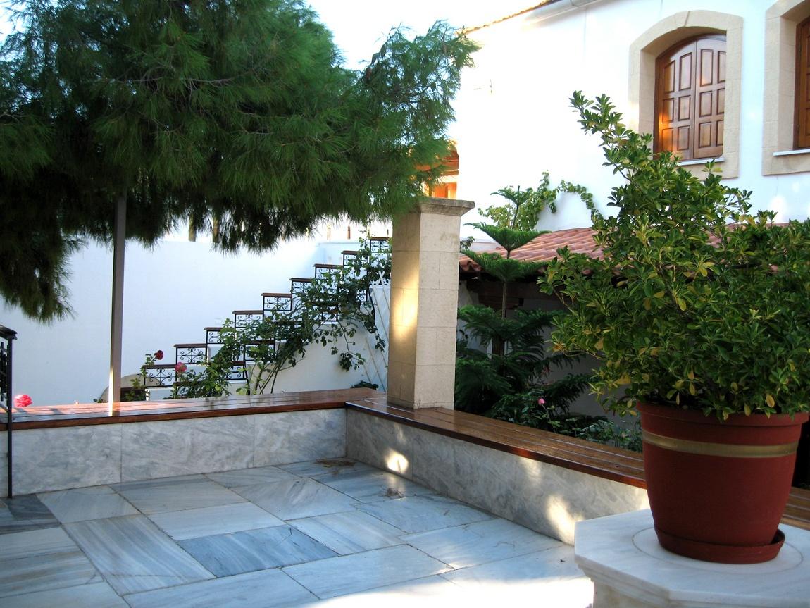 Внутренний дворик - Греция