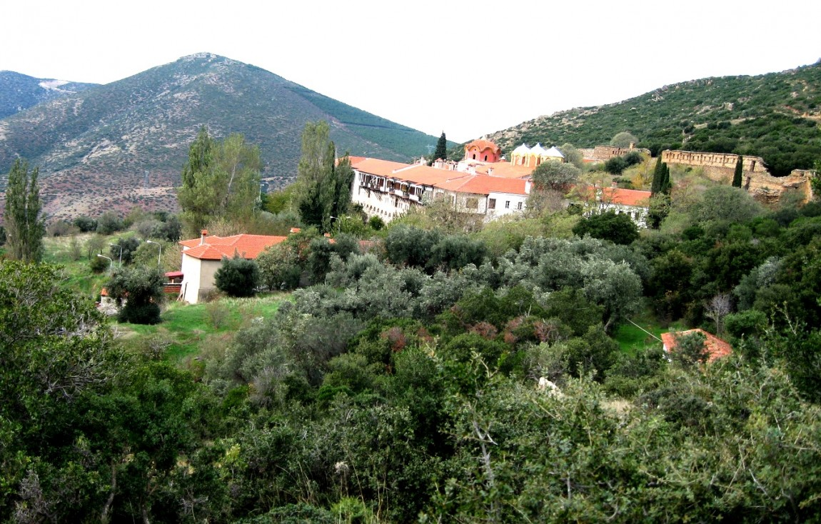 Монастырь Анастасии Узорешительницы - Греция