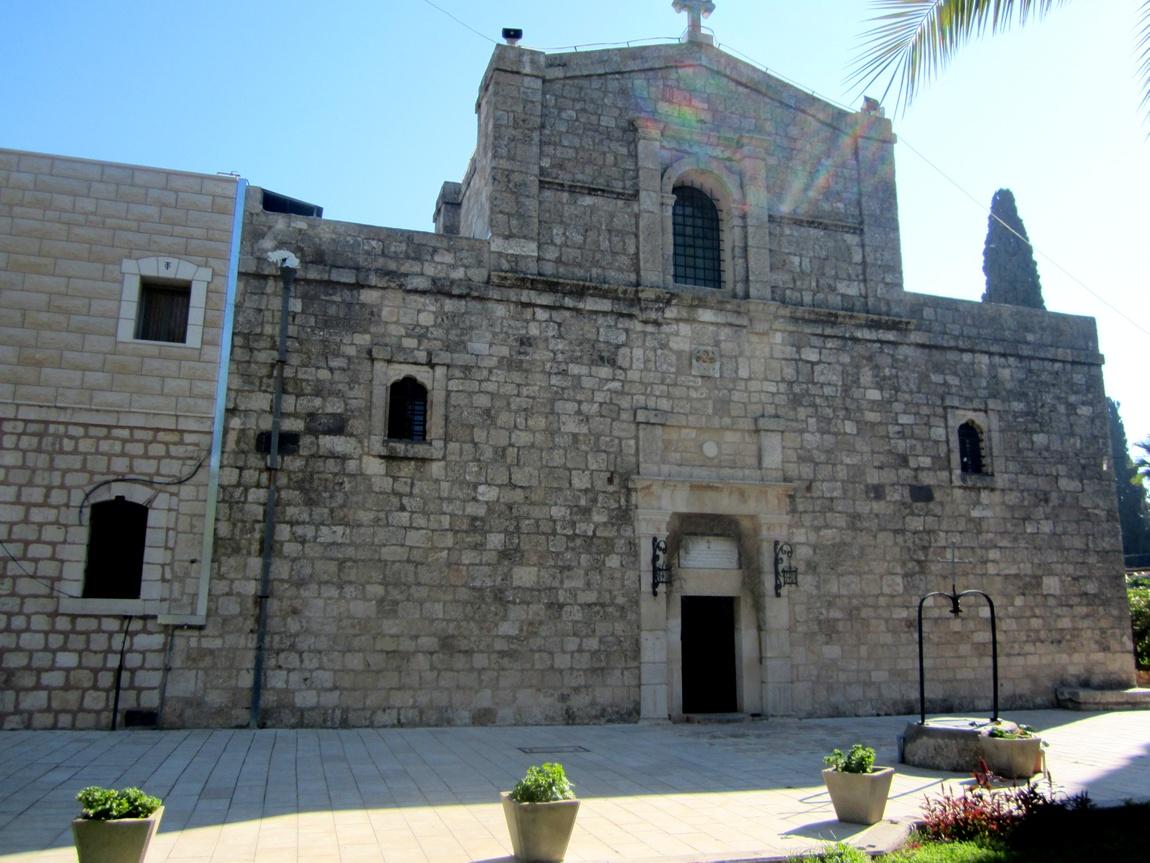 Монастырь «Преображения Господня» на горе Фавор
