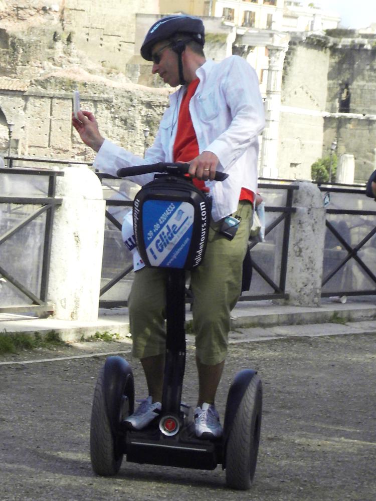 Сегвей в Риме