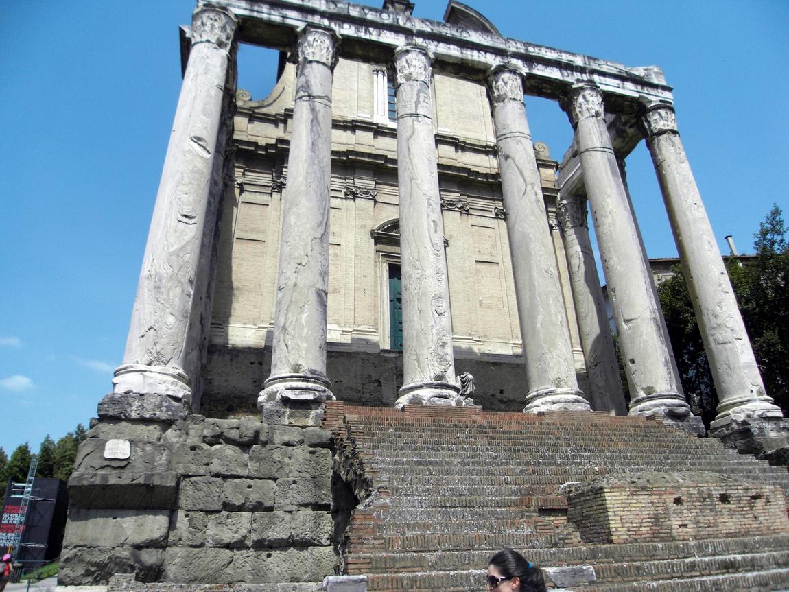 Римский Форум в Риме (Италия)